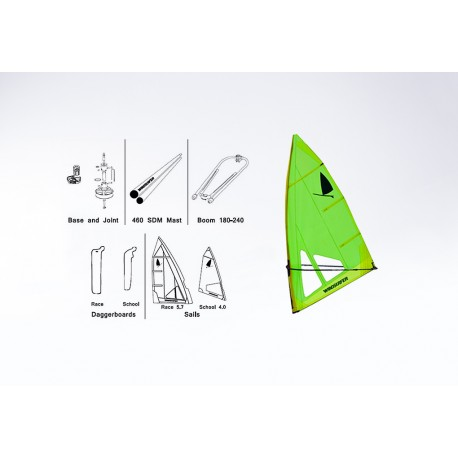 Aparejo Windsurfer LT 5.7